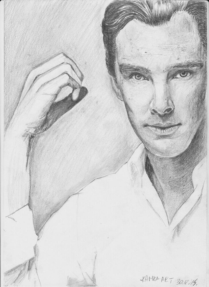 Benedict Cumberbatch por ciastkozdzemem